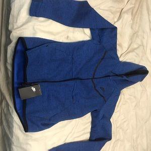 Nike Blue tech fleece jacket size L